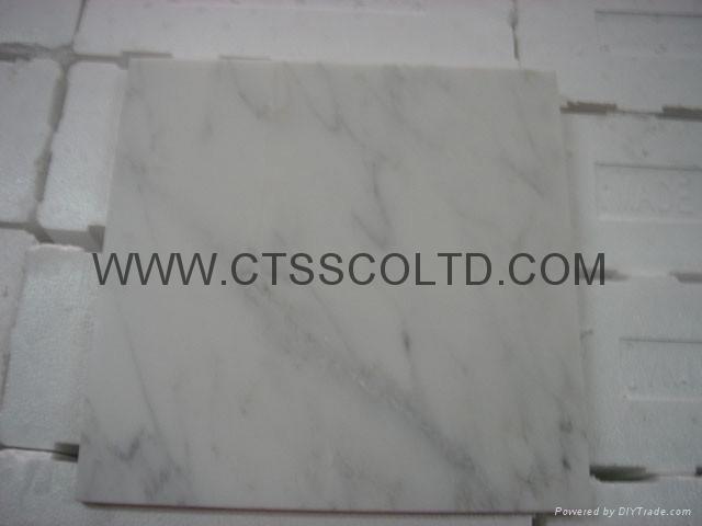 White marble tile 3