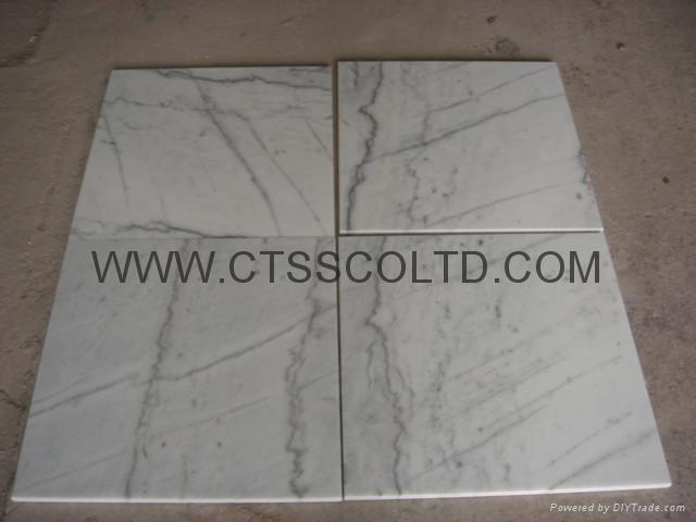 White marble tile 4