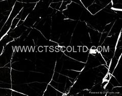 Black Marquina marble ti