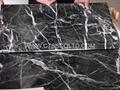 Black Marquina marble tile 4