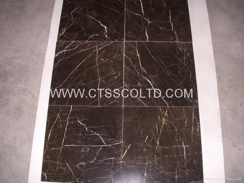 Brown marble tiles 5