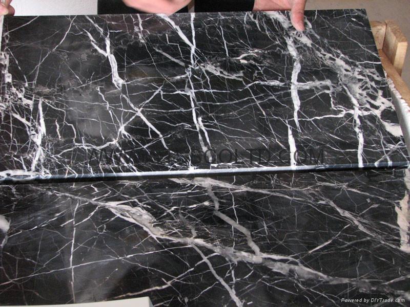 Nero Marquina marble 1