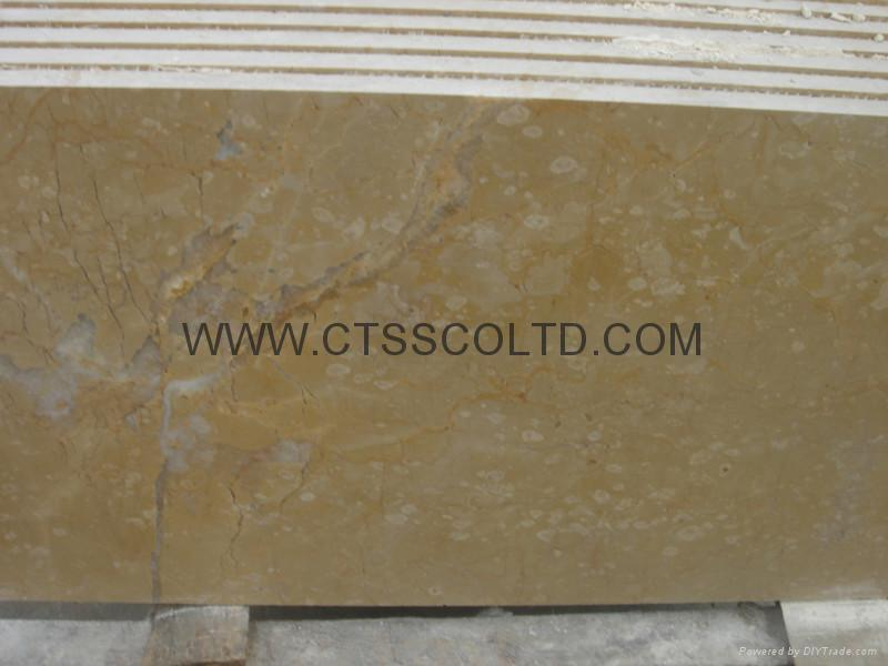 Golden yellow marble tiles 2