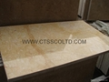 Golden yellow marble tiles 4