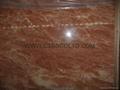 Marble slab and tile (Tea Rose marble) 2