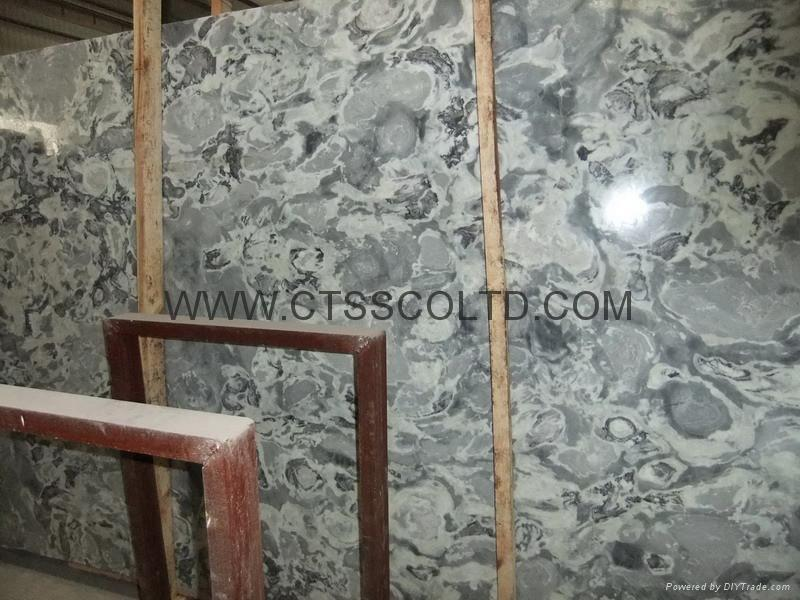 Colourful white marble slabs / tiles 5