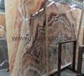 Onyx slab and tile
