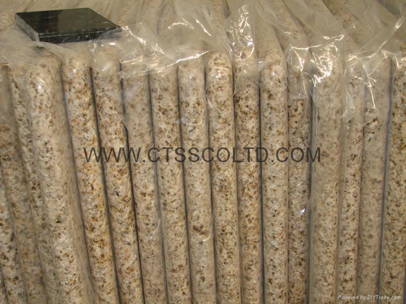 Yellow Beige Granite Sunset Gold Desert Gold Harvest Gold G682 countertops  1
