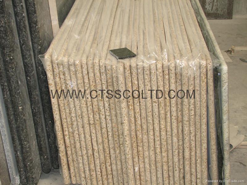 Yellow Beige Granite Sunset Gold Desert Gold Harvest Gold G682 countertops  2