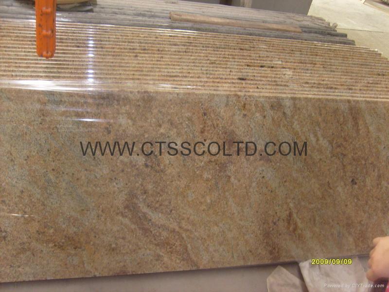 Madura Gold granite countertop 4