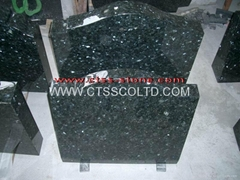 Emerald Pearl Granite Headstone