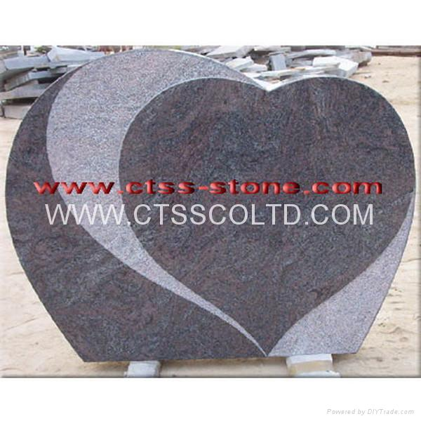 Emerald Pearl Granite Headstone 4