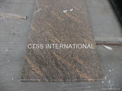 Giallo California granite countertops