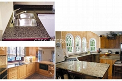 Granite countertop kitch