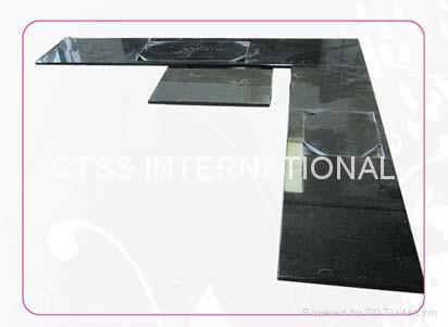 Granite countertop kitchen worktop table top bartop reception counter front desk 2
