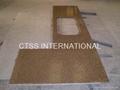 Granite countertop kitchen worktop table top bartop reception counter front desk 3