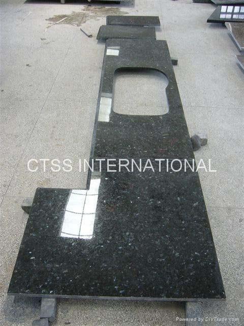Granite countertop kitchen worktop table top bartop reception counter front desk 4