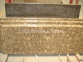 Giallo Fiorito granite counter tops
