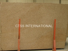 Desert Gold Sunset Gold yellow granite slab countertop