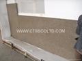 Giallo Antico granite kitchen countertops 2