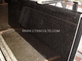 Black Galaxy granite countertop 1