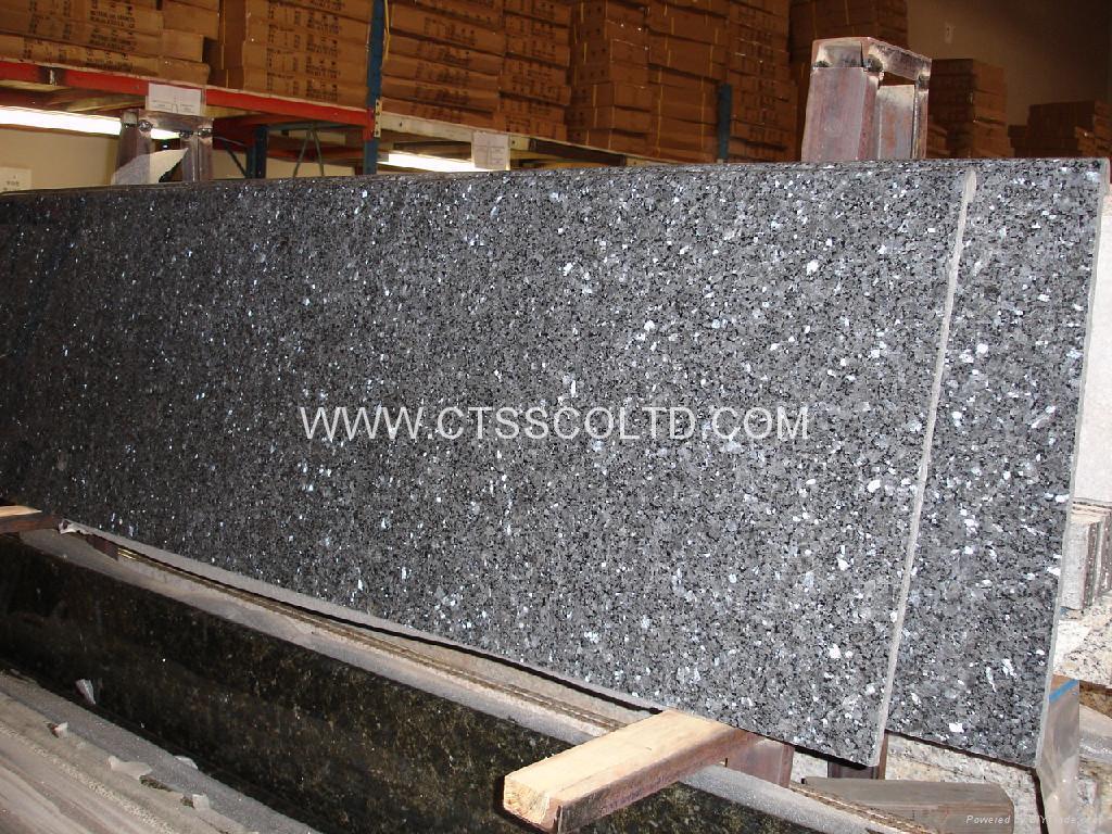 Blue Pear granite countertop 1