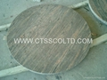 Juparana Colombo granite tabletops