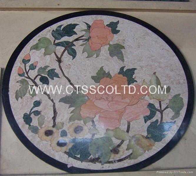 marble pattern marble medallion marble stone art marble mosaic floor tile 1