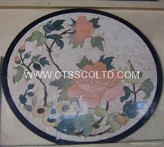 marble pattern marble medallion marble stone art marble mosaic floor tile