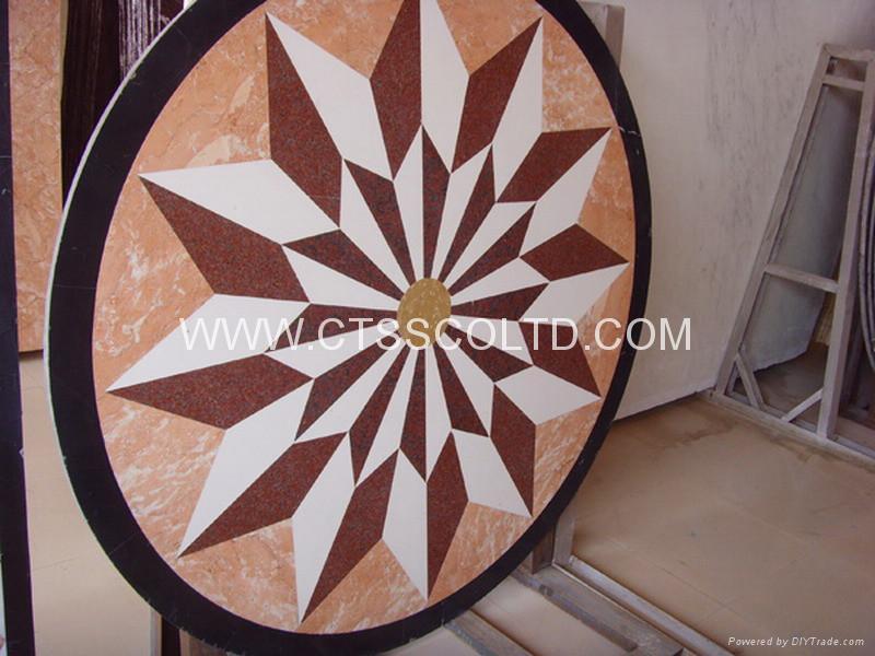 marble pattern marble medallion marble stone art marble mosaic floor tile 2