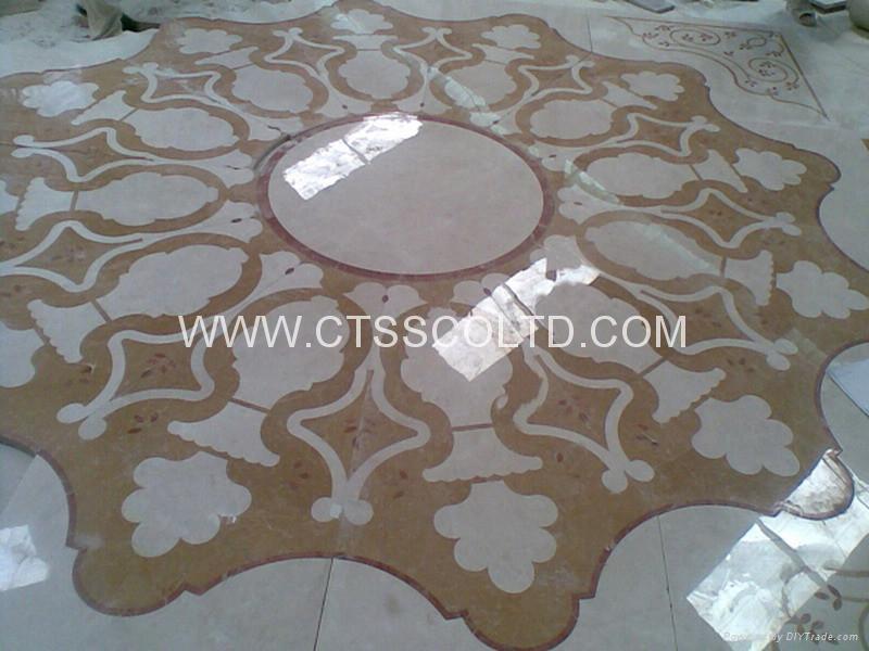 marble pattern marble medallion marble stone art marble mosaic floor tile 4