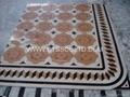 marble pattern marble medallion marble stone art marble mosaic floor tile 5