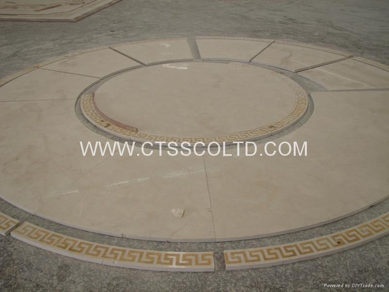 marble medallion marble tile marble pattern marble floor  4
