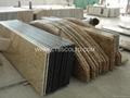 Granite countertop kitchen worktop