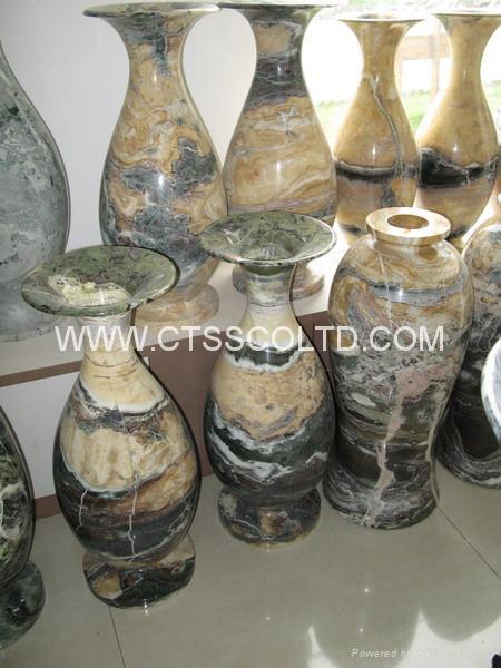 Granite Marble stone vase  1