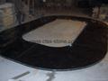 "black granite contertop 96""X26""X3/4"""