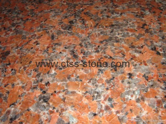 Maple Red G562 granite tiles  2