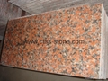 Maple Red G562 granite tiles  4