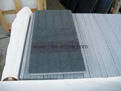 Dark grey Granite floor