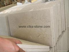 Classico Botticino marble floor tile 600x600x20mm