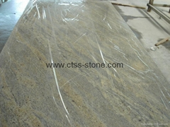 "Kashmir White Granite worktops 108""x26""x3cm"