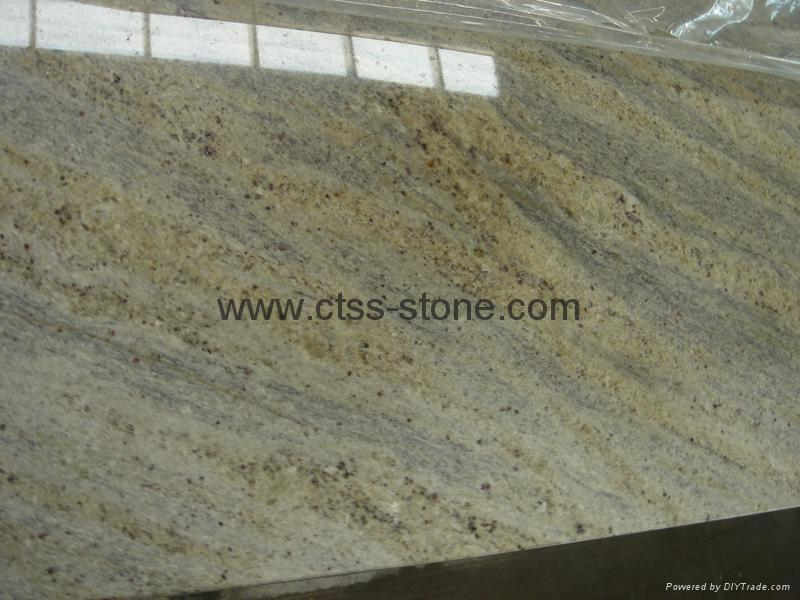 "Kashmir White Granite worktops 108""x26""x3cm 2"