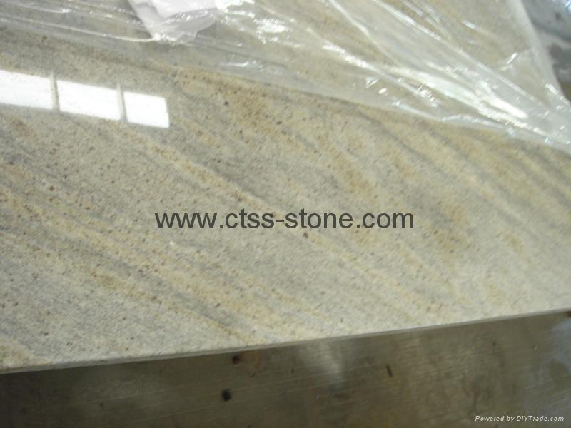 "Kashmir White Granite worktops 108""x26""x3cm 3"