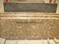 """Giallo Fiorito granite countertop 108""""x26""""x3cm"""