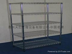 Luo plated shelf