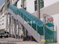 東莞採光雨棚專用PC陽光板耐力板