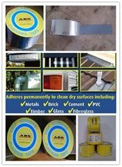 self adhesive aluminum waterproofing tape