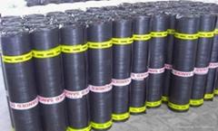 Torched on bitumen waterproof membrane