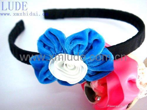 2014 new design headband with hair bow  3