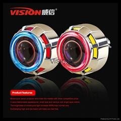 35W motorcycle projector headlight hid projector lens moto light